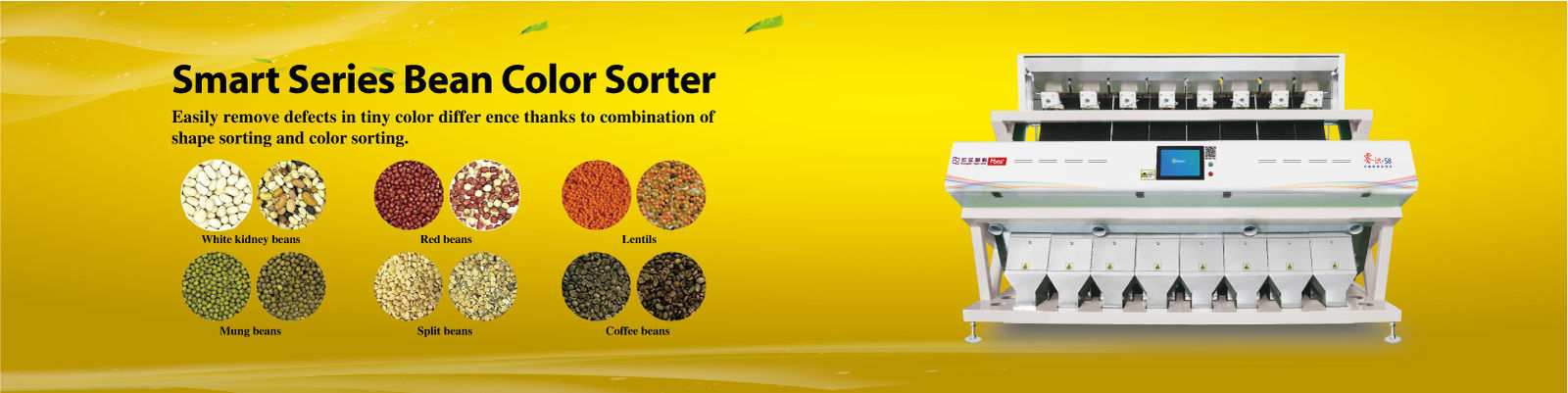 China best Bean Color Sorter on sales