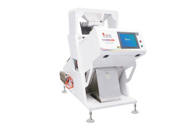 Accurate CCD Bean Color Sorting Machine High Sensitivity 0.4 - 0.6 T/H Capacity