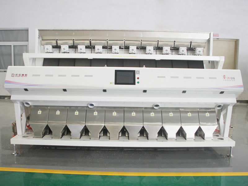 High Frequency Wheat Sorting Machine 10 Channels In Wheat Flour Milling Line