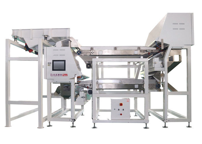 High Output 1600 Channels Plastic Sorting Machine CCD Color Sorter Machine