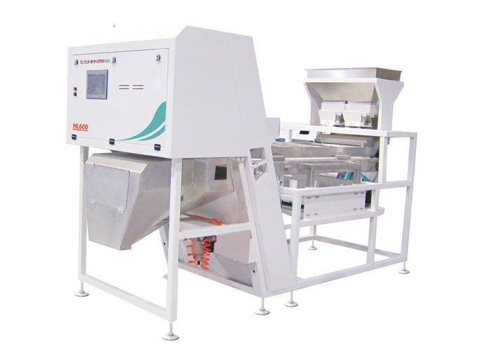High Speed Plastic Color Sorter Machine 600 Channels Controlled By Tablet