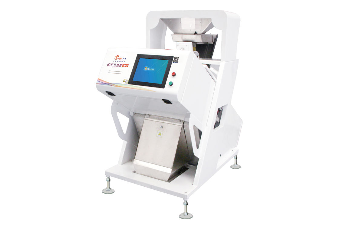 High Capacity RGB Camera CCD Color Sorter Machine 350 Kg Weight