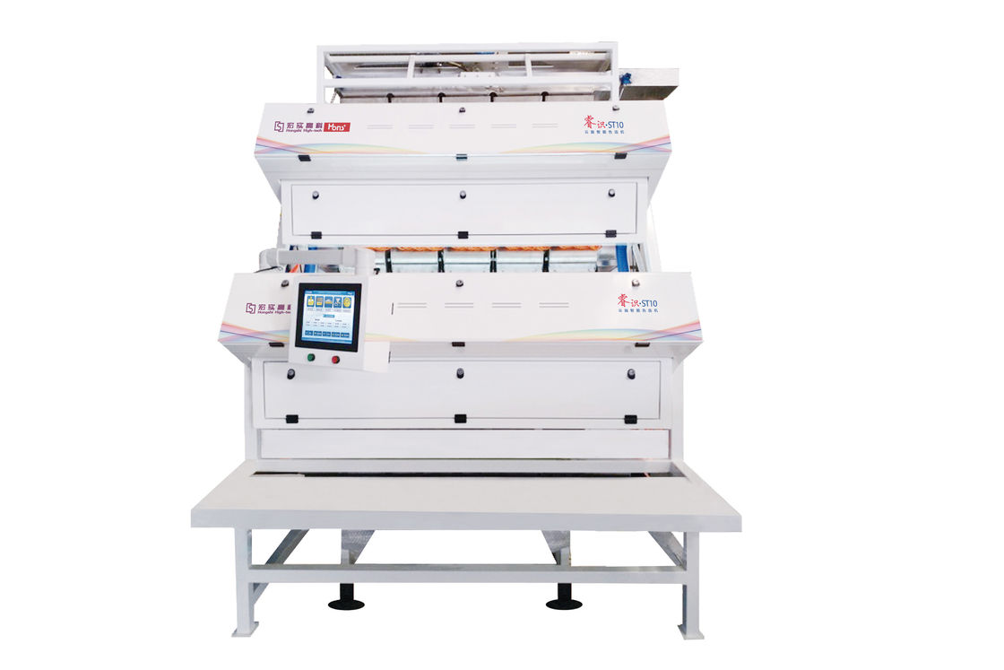 ST10 Type CCD Color Sorter Power 4.0 KW Capacity 0.6 - 0.9 Tons Per Hour