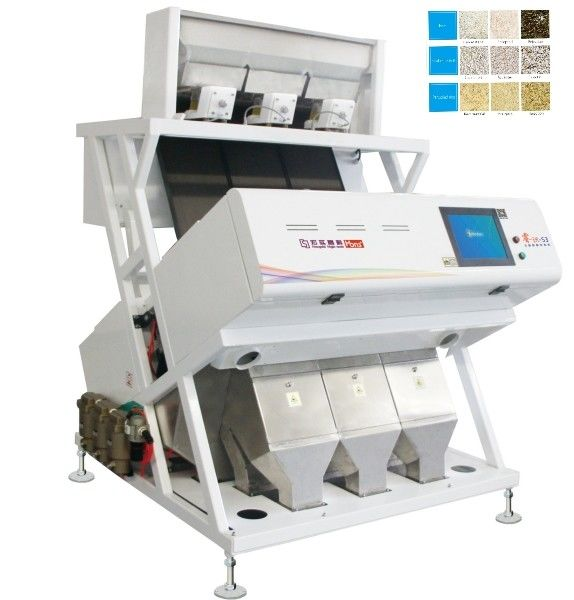 Agricultural products 2.0KW Rice Sorting Machine CCD Camera Color Sorter Machine High Frequency