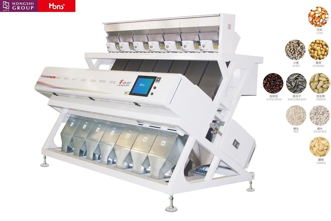 CCD Color Seperation Machine Of Chute Type With Power 4KW Voltage AC220V 50HZ