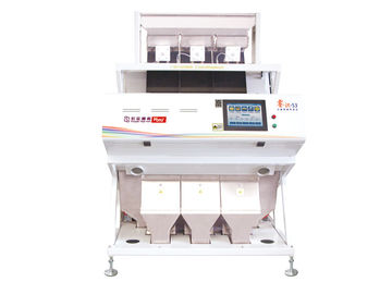 3 Channels Rice Color Sorter Machine For Long Grain Parboiled Sticky