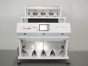 HD Full Color Broad Bean Color Sorter , Four Channels Potato Color Sorting Machine