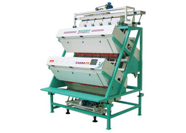 Automatic CCD Black Tea Color Sorter , Tea Sorting Machine Optional Color